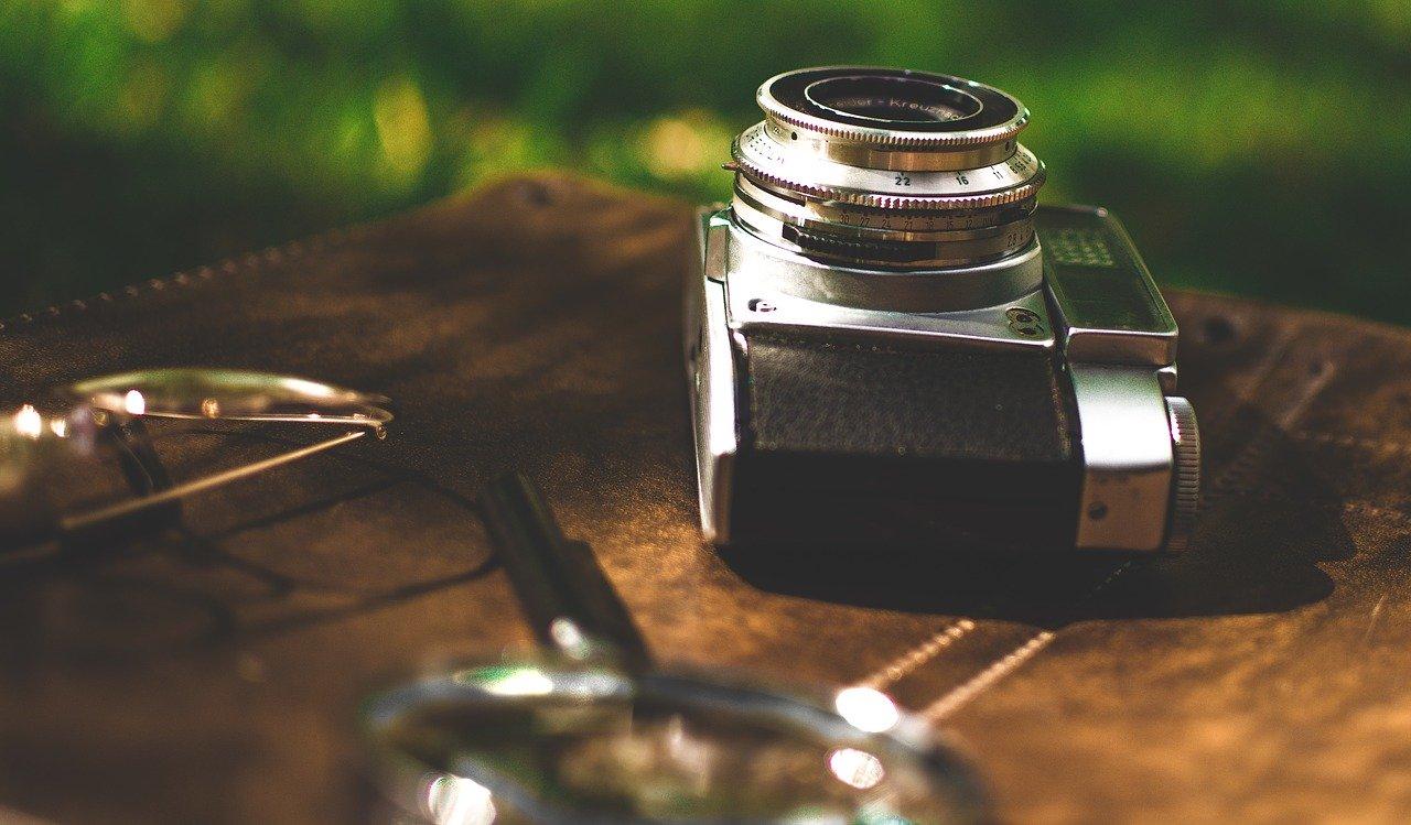 camera, old camera, retro
